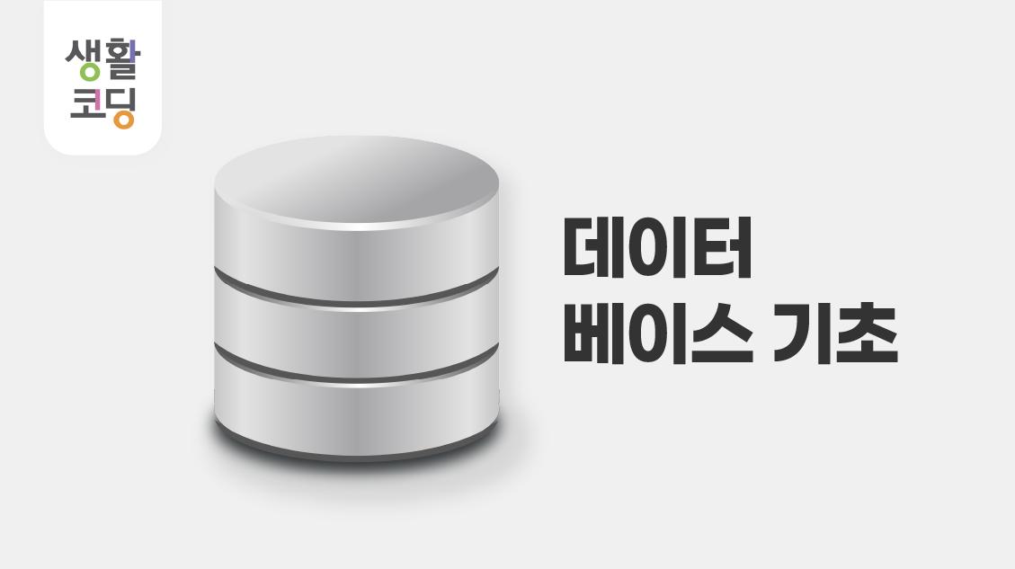 데이터베이스1 - 기초편